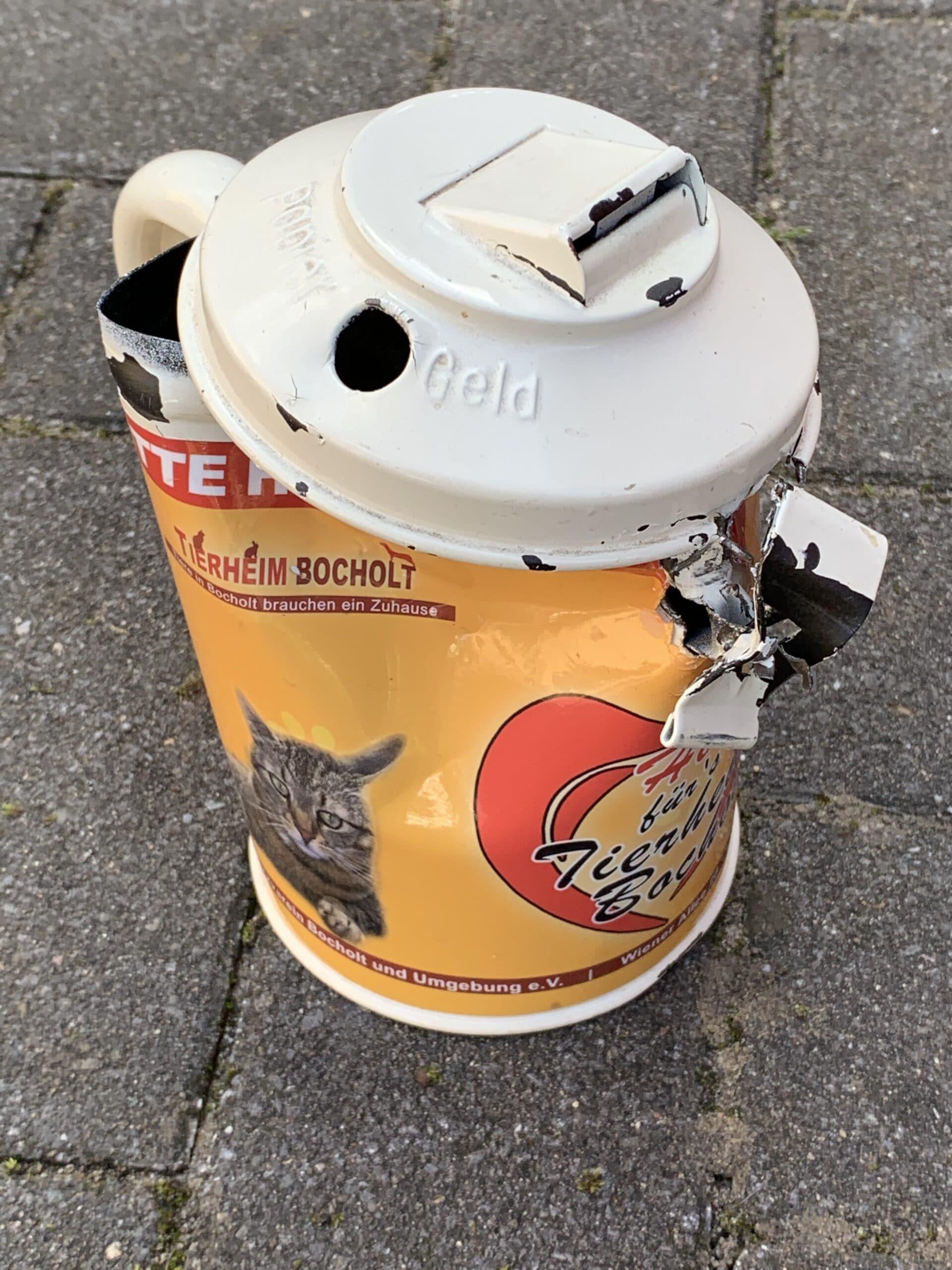 Spendendosen werden immer öfter aufgebrochen !
